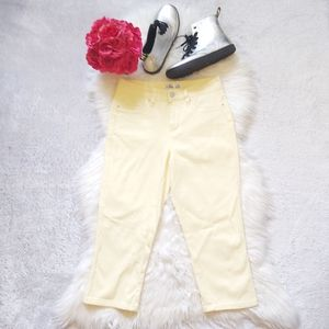 Royalty For Me High Rise Crop Pant Acadamia Y2K